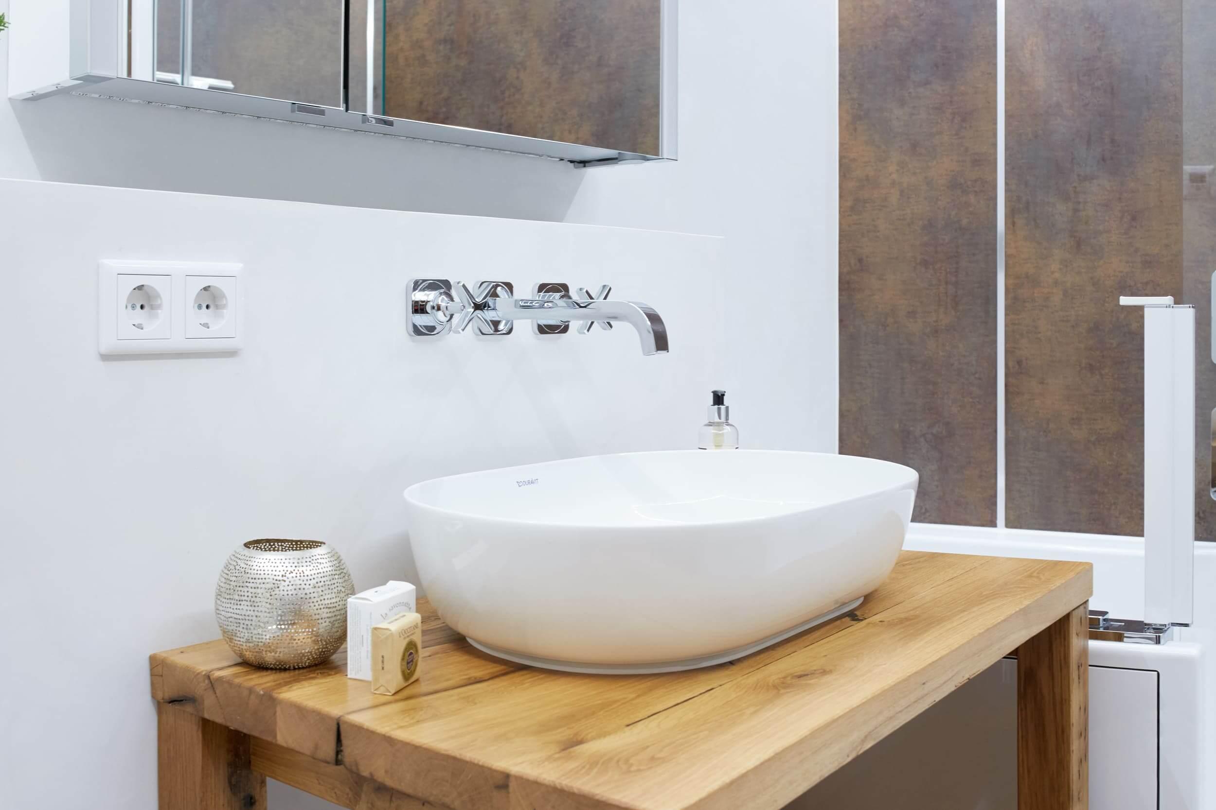 Badezimmer mit Komfort